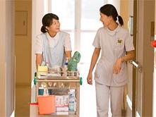 充実した医療サポートと介護体制