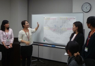 2014年11月 内定者 銀座研修を開催!