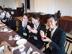 2014年8月 内定者 八芳園研修を開催!